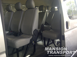 interior commuter toyota hiace